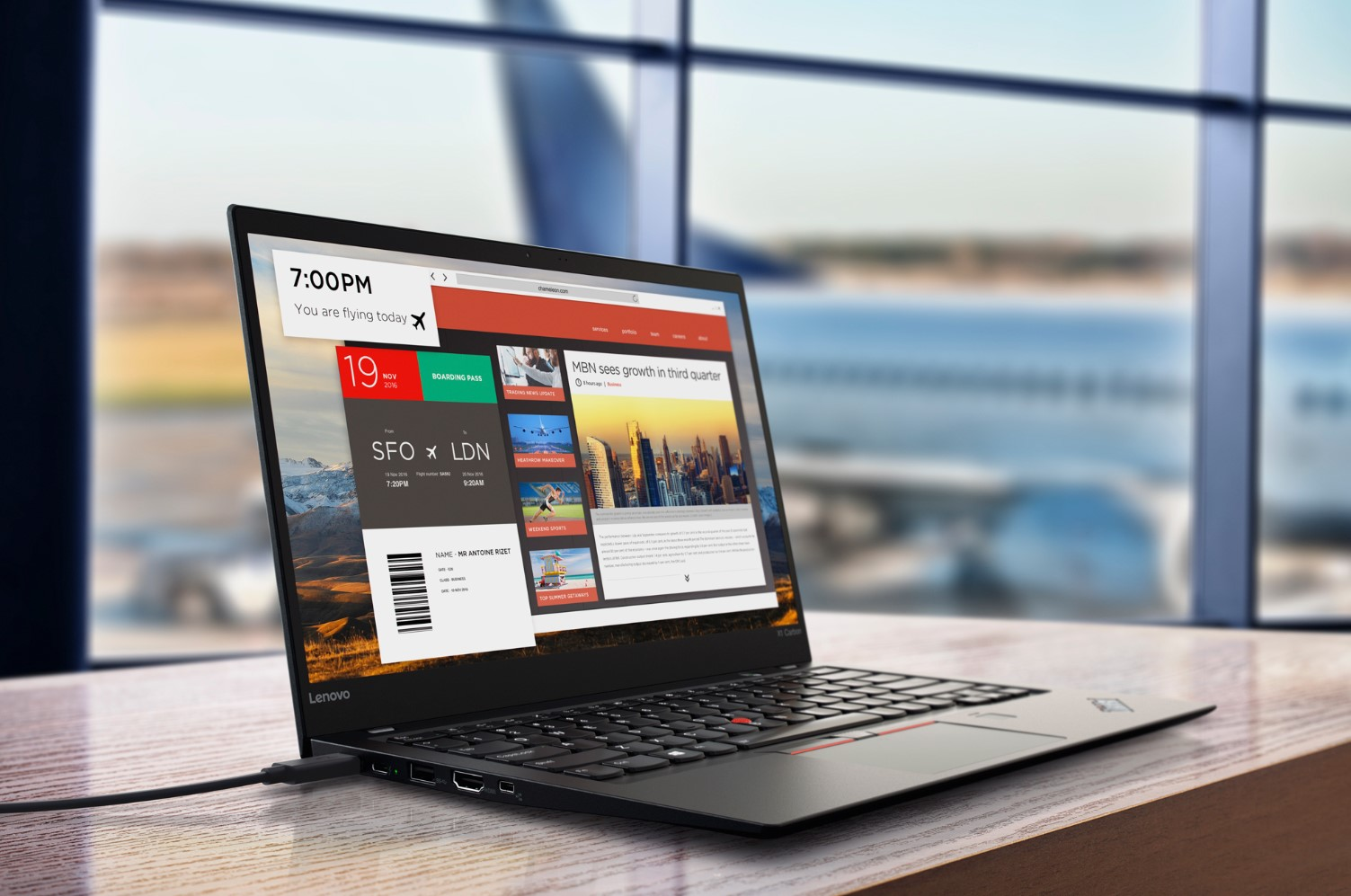 Lenovo ThinkPad X1 Carbon 7 – topowy bardzo cienki laptop – Instytut IT